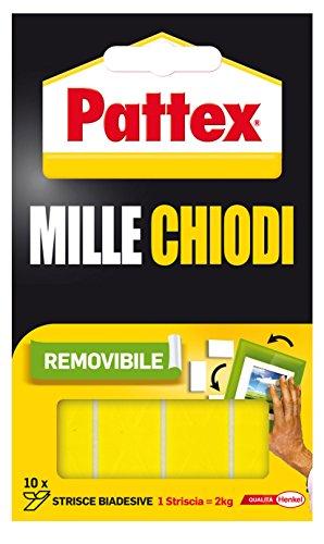 Pattex 1415614 Pastilles adhésives double-face 4 x 2 cm