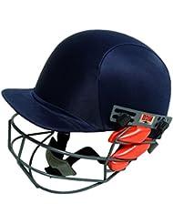 BDM dinámico Super Azul de cricket justierbare Botes de casco de diadema de protección de equipos, color azul, tamaño extra-large