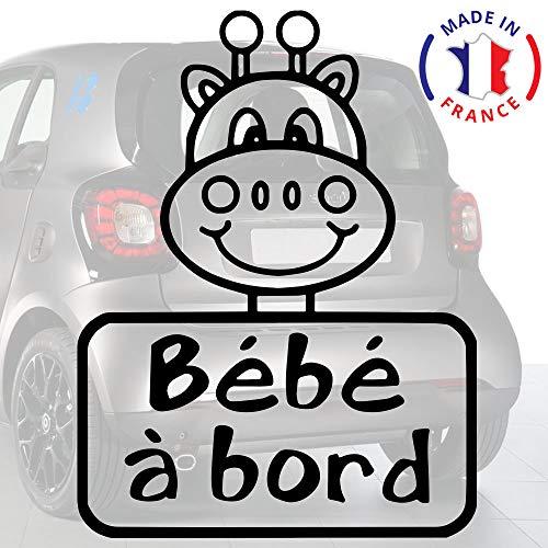 Kesoto Coussin Prot/ège Si/ège B/éb/é pour Poussette// Voiture// Chaise Haute Housse de Protection Respirant R/ésistant /à leau Girafe