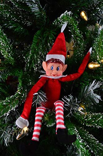 "Elves Behavin' Badly - 12"" Vinyl Faced Naughty Elf Doll"