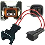Adaptador del inyector BOSCH EV1 (Female) a BOSCH EV6 (Male) con cable de 10 cm