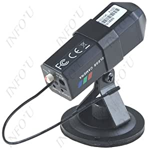 High-tech 2.4GHz UHF Band Wireless CMOS Camera with Antenna for Mobile Phone