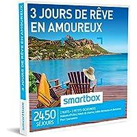 SMARTBOX - Coffret Cadeau - 3 JOURS DES RÊVE EN AMOUREUX - 2450 séjours dans toute la France : maisons d'hôtes, hôtels de charme, auberges et domaines