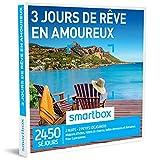 SMARTBOX - Coffret Cadeau homme femme couple - 3 jours de rêve en amoureux - idée cadeau - 2450 séjours : 2 nuits • 2 petits-déjeuners pour 2...