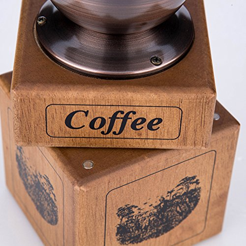 Hand-cranked Grinder Coffee Grinder Household Coffee Grinder Small Manual Grinder