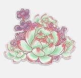 Wandtattoos Wandbilderschöne Dekorative Blume Auto Aufkleber Hohe Qualität Pvc Farbe Auto Dekorative Aufkleber 15.2X11.9 Cm