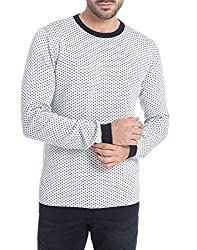 Jack & Jones Men's Cotton  Sweater (5712834660583_White_X-Large)