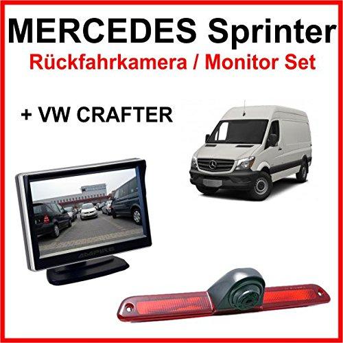 Caméra de recul/Moniteur Kit pour Mercedes Sprinter VW CRAFTER