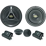 Lanzar Distinct - Kit de altavoces para puerta de coche (6,5 pulgadas, 600 W)