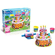 Peppa Pig PEPP003 Kids/Children Birthday Cake Dough Play Game Set