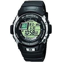CASIO G-Shock G-7700-1ER - Reloj de caballero de cuarzo, correa de resina color negro (con cronómetro, alarma, luz)