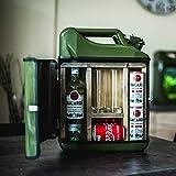 JerryCan Kanister mobile-Bar Barschrank inkl. 2 Longdrinkgläser, ca. 45 x 35 x 18 cm