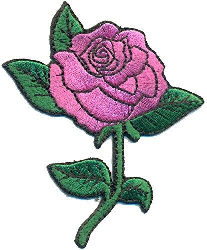 Floral Uniform (ROSE Blume Flower Floral Deko Uniform Kostüm Emo Gothic Patchwork Aufnäher)
