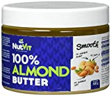 NutVit 100% Almond Butter Smooth, 1er Pack (1 x 500 ml)