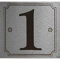 eCobbler Adhesivo Plateado para puerta número 1