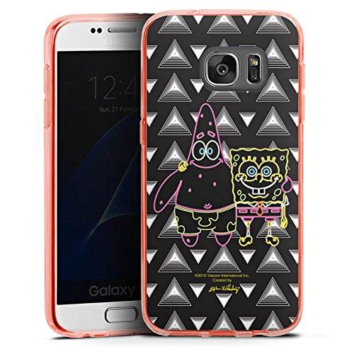 Samsung Galaxy S7 Silikon Hülle Case Schutzhülle Spongebob Merchandise Fanartikel Spongebob und (Patrick Spongebob Und)