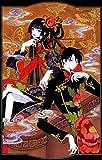 2-HOA4C3 XXXholic Ichihara Yuko Watanuki Kimihiro Kunogi Himawari 35cm x 55cm,14inch x 22inch Silk Print Poster