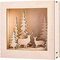 Rayher Hobby 46308000 Zubehör, Holz, Braun, One Size