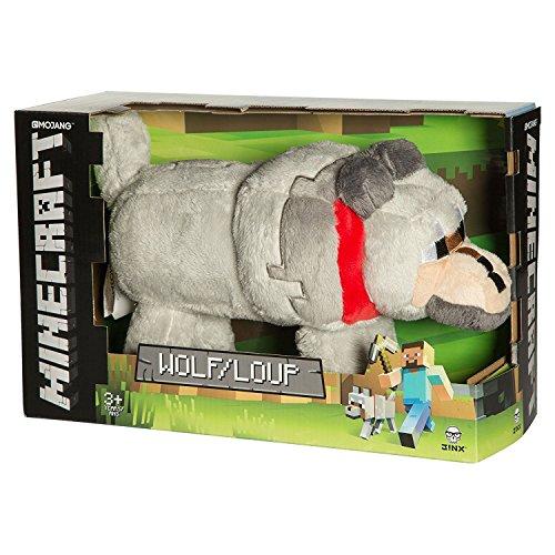 """Wolf Plush - Minecraft - 33cm 13"""""""