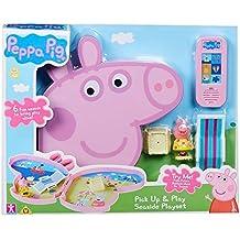 Peppa Pig Playset Maletín Playa Bandai 06678