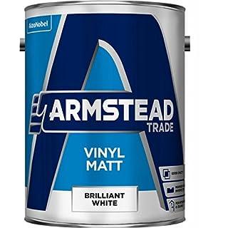 Armstead Trade Vinyl Matt Brilliant White 5 Litres