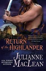 Return of the Highlander (The Highlander Series Book 4) (Volume 4) by Julianne MacLean (2015-06-10)