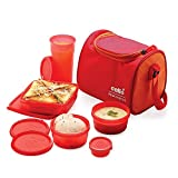 #4: Cello Max Fresh Sling Lunch Box 5 Container With Bag