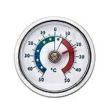 Lantelme Kühlschrankthermometer silber 5448