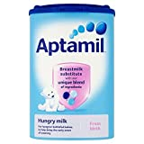 Aptamil Milch Anfangsmilch Hungry Säuglinge, 900g (Pack 6x 900g)