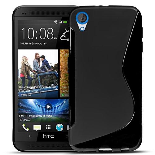 Conie Hülle für HTC Desire 820 Hülle, [S Line Series] Soft Flex TPU Case Ultradünn Echtes Telefongefühl handyhüllen PC Bumper Cover Schutz Tasche Schale Schutzhülle, für HTC Desire 820 (5.5