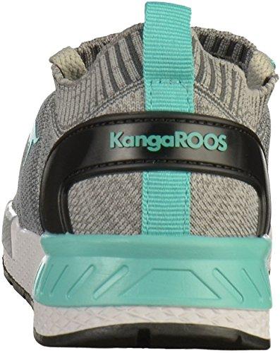 KangaROOS 81051 Hommes Baskets Gris