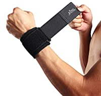 King of Flash Protective Wrist Guard Padded Support Brace For Sports, Repettive Strain, Arthritis and Carpal Tunnel (One Piece)