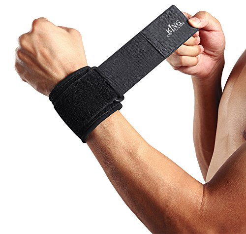 King of Flash Handgelenkbandage, für Sport, zur Entlastung, gepolstert, geeignet bei Arthritis und Karpaltunnelsyndrom, 1 Stück