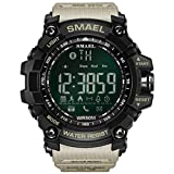 SHINEHUA Herren Uhren Herren Militär Wasserdicht Sports Digital Analog Uhr Multifunktions Chronograph LED Alarm Tag Kalender Quarz Uhr Herren Militär Sportuhr Armbanduhr für Männer