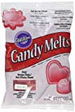 Wilton Candy Melts rot, 1er Pack (1 x 340 g)
