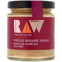 Roh Gesundheit Organischen Ganzen Sesam Tahini 170G - Packung mit 2
