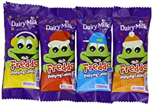 Cadbury Freddo Popping Candy 18 g (Pack of 1, Total 60 Bars)