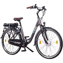 "NCM Munich N8C 36V, 28"" Zoll Elektrofahrrad Herren & Damen Unisex Pedelec, E-Bike, City Elektrofahrrad mit Rücktrittbremse, 250W Frontmotor, 13Ah 468Wh Lithium-Ionen-Akku"