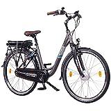 """NCM Munich N8C 36V, 28"""" Zoll Elektrofahrrad Herren & Damen Unisex Pedelec, E-Bike, City Elektrofahrrad mit Rücktrittbremse, 250W Frontmotor, 13Ah 468Wh Lithium-Ionen-Akku, anthrazit"""