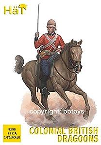 Unbekannt Hät 008288-1/72WWI Británica dragoner plástico Maqueta de