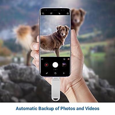 Yocktec OTG USB Memory Stick 32GB, 3 in 1- Micro USB, Type-C, USB 2.0 Flash Drives Memory Stick for Macbook, Huawei P9, LG G5, Meizu Pro 6, Xiaomi Mi 4C, Xiaomi Mi 5, LeTV LeEco Mobile Series, ChromeBook Pixel-Silver