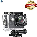 #9: Supreno Full HD 1080P Sports DV Action Waterproof Car Bike Camera