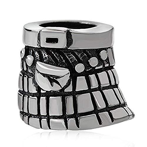 Schottland Rock Charm 925Sterling Silber Symbol Charme Von UK England Charm für Pandora-Charms Armband