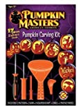 Pumpkin Masters Pumpkin Carving Kit with 12 Patterns & Tools by Signature Brands