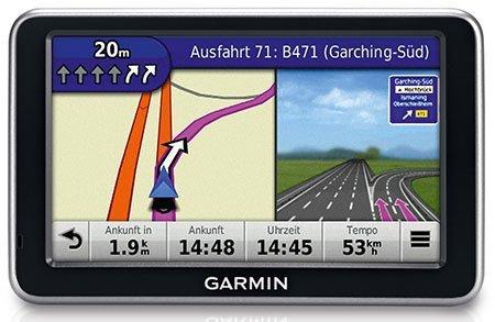 Garmin nüvi 140T Navigationsgerät (10,9 cm (4,3 Zoll) Touchscreen, TMC, 22-Ländern Zentraleuropa)