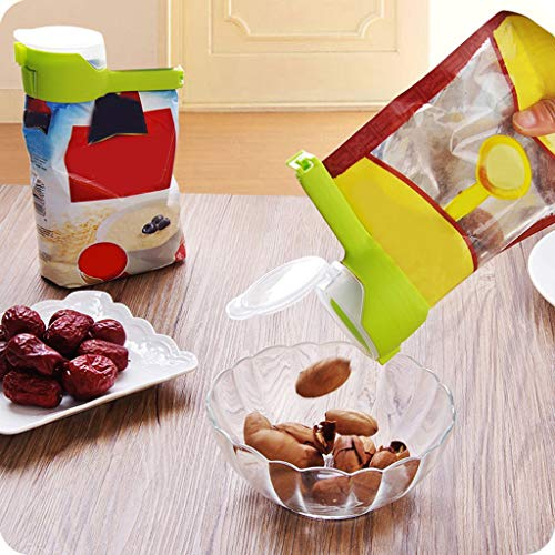 arten -> Küche,Beutelclip Gießen Sie Lebensmittelversiegelung Lagerung Seal Sealer Gefrierschrank Kühlschrank Clamp Cover Fresh ()