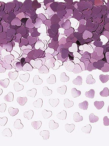 llic-Konfetti, glitzernde Herzen, 14g (Mens Fancy Dress Rosa)