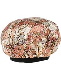 B Baosity Sombrero de Satén Transpirable Elástico Estamapado para Cáncer Quimioterapia Pérdida de Cabello