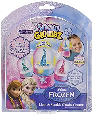 Disney Frozen Snow Glowbz Light and Sparkle Globe Charms by Disney Frozen por John Adams Leisure Ltd