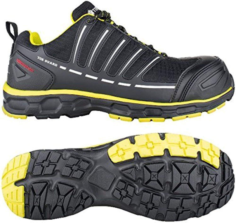 Toe Guard tg8051047 Sprinter Scarpe di sicurezza S3 ESD SRC Taglia 47 nero limone verde | Lasciare Che Il Nostro Commodities Andare Per Il Mondo  | Gentiluomo/Signora Scarpa